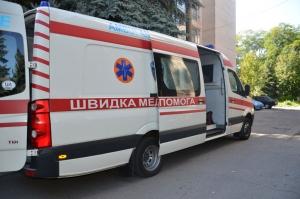 днепропетровск, украина, происшествия, дтп, жигули, велосипедисты, дети