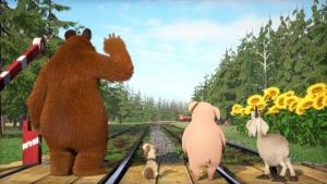 мультсериал, Маша и медведь, мультик, видео