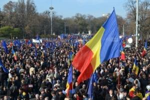 митинг, общество, политика, кишинев, молдова, румыния