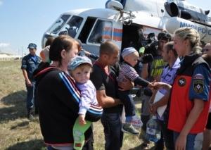 юго-восток украины, ситуация в украине, беженцы, ростов, россия
