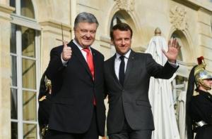 Петр Порошенко, президент Украины, политика, новости, Париж, Франция, Макрон, переговоры