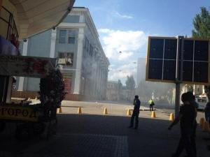 юго-восток украины, новости донецка, ситуация в украине, южный автовокзал, центральный универмаг