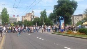 митинг, днр, октябрьский, александр захарченко