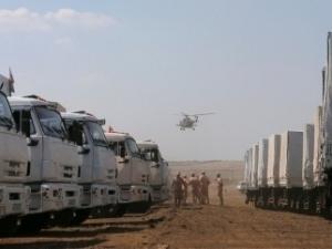 гуманитарный конвой, рф, груз, досмотр, обсе, луганск, донбасс, ато