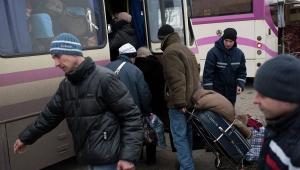 дебальцево, эвакуация населения, мирные жители, обстрел, донбасс