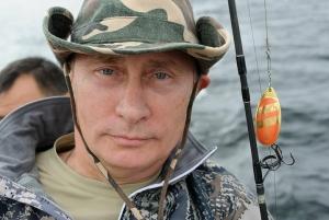 Владимир Путин, Рыбалка, Дмитрий Песков, Щука, Подводная охота, Кремль