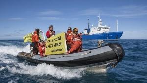 """Гамбург, Greenpeace, российский танкер, """"Михаил Ульянов"""", перевозка нефти"""