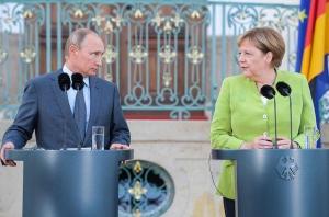 путин, меркель, встреча, северный поток-2, сша, санкции, сирия, мигранты