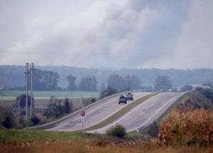 винницкая области, калиновка, склады боеприпасов, взрыв, чп, полиция. эвакуация