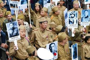 Владивосток, фото, парад, ВОВ, победа Китай