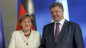 Порошенко, Меркель, Евросоюз, нормандский формат, переговоры, Украина, кризис