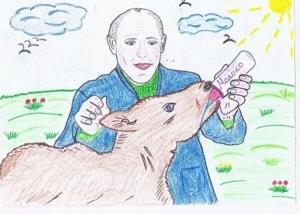 россия, выборы, путин, финансы, конкурс, дети рисуют президента, скандал