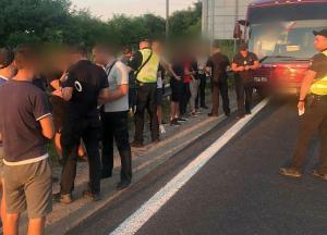 Зеленский выборы Верховная Рада неизвестные полиция видео киев