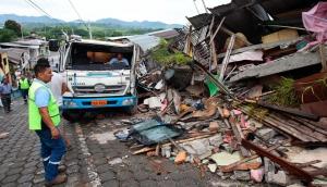 общество, происшествия, землетрясение, Эквадор, жертвы