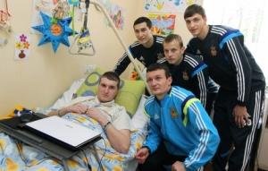 футбол, ато, всу, сборная украины по футболу, львов, восток украины, донбасс, ффу, федецкий