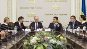 верховная рада, украина, политика, ес, порошенко, яценюк, коалиция
