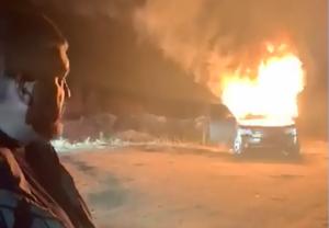 украина, вру, ярошевич, спалил, Авто Евро Сила, Land Rover, евробляхеры, протест, закон, кадры, смотреть видео