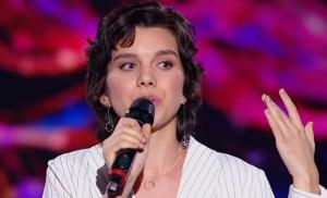 зоряна атлас, инсульт,  голос страны-10, довела до слез зрителей, зал аплодировал стоя,