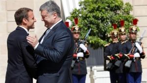 Порошенко, Украина, политика, общество, ес, франция, макрон, россия