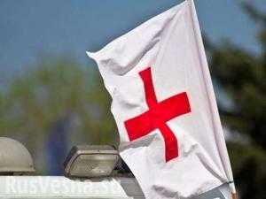 киев, красный крест, гуманитарка, продажа гуманитарки, общество, происшествия, украина