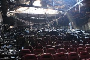 киев, жовтень, кинотеатр, пожар, поджог