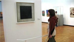 черный квадрат, казимир малевич, картина, открытие