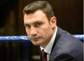 Виталий Кличко, мэр, Киев, икона, инцидент