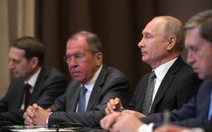 Россия, политика, мид, лавров, помпео, видео, переговоры, вежливые люди