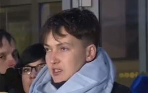 Политика, Савченко Надежда , Скандал