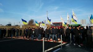 Украина, перекрывают дороги, Протест, Митинг, Закон, Законопроект.
