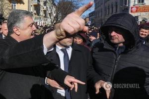 чернигов, нацкорпус, порошенко, выборы, стлкновения