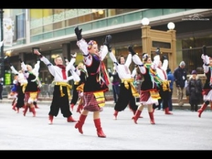 Чикаго, украинцы, гопак, украинский, ансамбль, танец, выступил