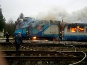 гсчс, поезд, пожар, спасатели, происшествия, железная дорога