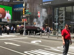 дтп, нью-йорк, сша, кадры, фото, видео, авария, таймс-сквер