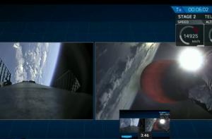Falcon 9, сша, спутник, космос, катар, нло