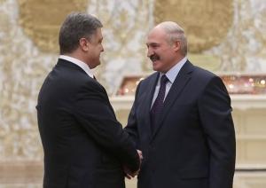 лукашенко, порошенко, украина, беларусь, политика, переговоры в минске