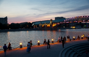 Россия, Москва, криминал, парк Горького, драка, стрельба