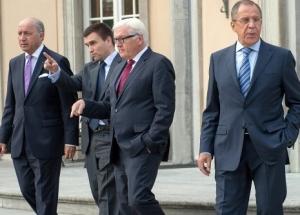 АТО, Донбасс, восточная Украина, встреча в Берлине, МИД Украины, МИД Россси, МИД Германии, МИД Франции, мирные переговоры