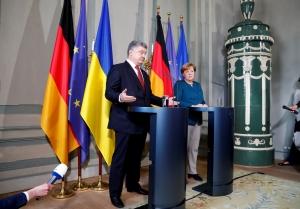 украина, порошенко, меркель, россия, путин, нормандская четверка, переговоры, минские соглашения, макрон