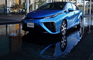 машина, Toyota, электрокар, автомобиль
