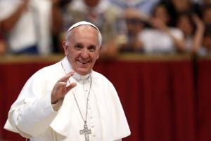 Папа Римский, церковь, флаг, символ, Украина, поддержка, дауна, синдром