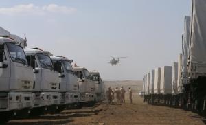 Гуманитарная помощь РФ, юго-восток Украины, Донбасс, Донецк, Ростовская область, Красный Крест, МИД РФ
