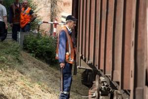 днепр, трамвай, железная дорога, столкновение, дтп, авария, жертвы, фото, происшествия, новости украины
