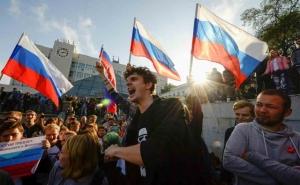 протесты в России, день рожденья путина, Алексей навальный, российская оппозиция, новости России