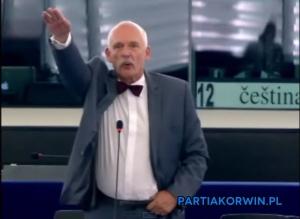 польша, политика, общество, евросоюз, нацистский жест