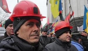 шахтеры, кабмин, задолженности, киев, украина