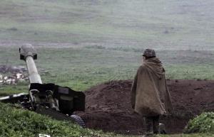 Карабах , Азербайджан, война, конфликт,обстрел,Тертер