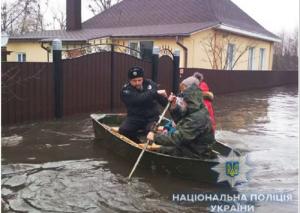 Украина,  погода, сумы, области, наводнение, полиция