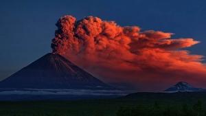 Мир, Россия, Камчатка, вулкан. сопка, извержение, пепелопад, происшествия