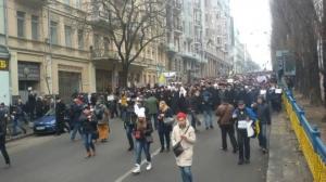 Киев, марш солидарности, Волноваха, Украина, обещство